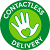 contactless delivery logo